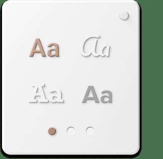 Choix de la typographie pour votre site internet