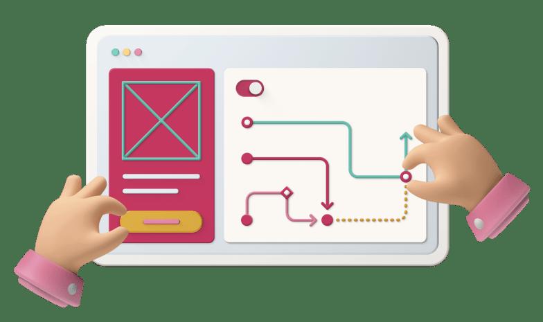 Conception UX : expérience utilisateur sur ordinateur